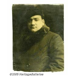 Enrico Caruso Signed Photograph. Here's an impres