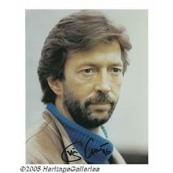 Eric Clapton Signed Photo Plus Other British Rock