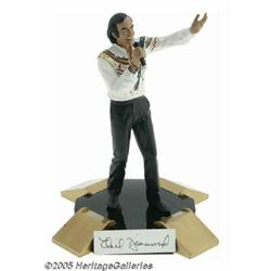 "Neil Diamond Signed Statuette. This 10"" porcelain"