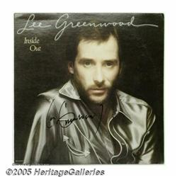 Lee Greenwood Signed Album Collection. Lee Greenw