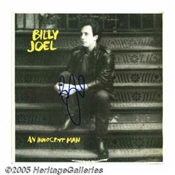 "Billy Joel Signed ""An Innocent Man"" LP Columbia 3"