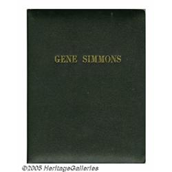 Gene Simmons Songbook. Here is something no self-