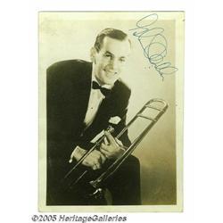 Glenn Miller Signed Photograph. Here is a vintage