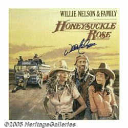 """Willie Nelson & Family Signed """"Honeysuckle Rose"""""""