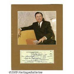 Jim Reeves Signed Checks Lot of 5. Here are five
