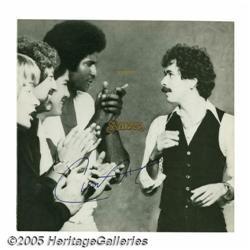"Santana Signed ""Inner Secrets"" LP Columbia 35600"