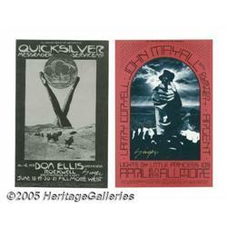 David Singer Signed Postcards (Tea Lautrec Litho,