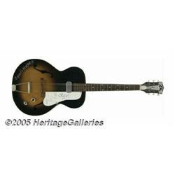 John Lee Hooker Signed Guitar. To paraphrase Time