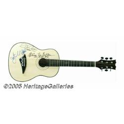 Oak Ridge Boys Autographed Guitar. One of the mos