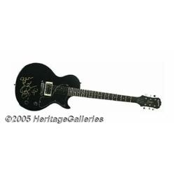 Lisa Marie Presley Autographed Guitar. As the onl