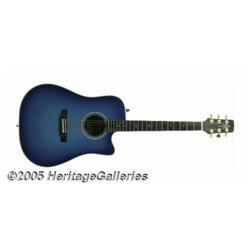Johnny Cash Used Guitar. This gorgeous blue Alvar