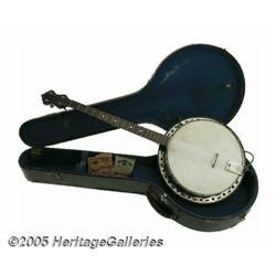 Buddy Holly Banjo and Personal Items. Buddy Holly