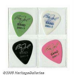 Billy Joel Band Pick Set, Group of 4 (2001). This