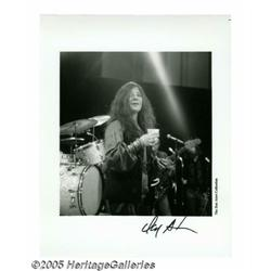 Janis Joplin Unpublished Photos Group of 2 (Don A