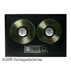 Kenny Rogers Double Gold Album Award. This lot fe