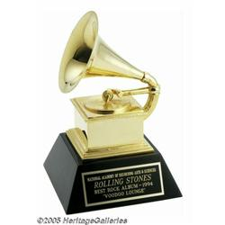 Rolling Stones Grammy Award. Featured in this lot