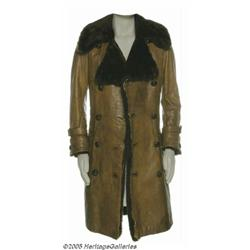 Roger Daltrey Worn Leather Coat. Best known as th