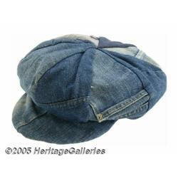 Jimi Hendrix Denim Hat. A street-style denim hat