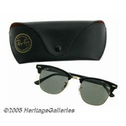 John Lee Hooker's Stage Worn Sunglasses. A large