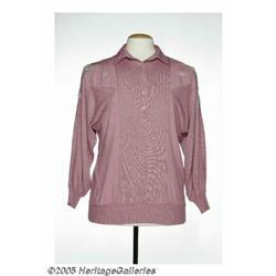Ramona Jones Pink Shirt. This pink pullover was w