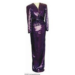 Barbara Mandrell Gown Designed by Lillie Rubin. B