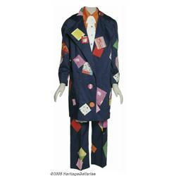 Barbara Mandrell Clown Suit. This colorful patchw