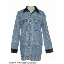 Snoop Dogg Paisley Jacket. Here is a light blue p
