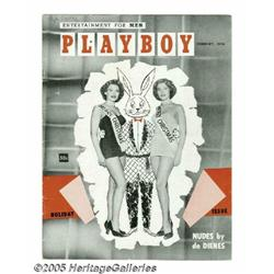 Playboy Magazine Vol.1 No. 2. Here is an excellen