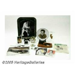 Miscellaneous Elvis Memorabilia Pieces. This is a