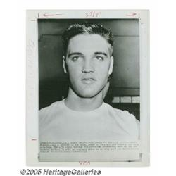Elvis Presley Photographs. Featured are 22 vintag