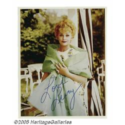 Lucille Ball Signed Photograph plus Other Hollywo