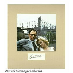 Arthur Miller Signature With Photograph. One of A