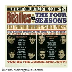 The Beatles Vs. the Four Seasons LP Vee-Jay DX 30
