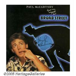 Paul McCartney Autographed Album. Featured in thi