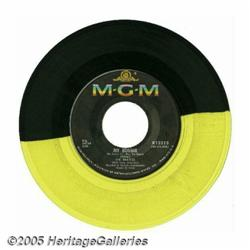 """Beatles Two-Color """"The Saints/My Bonnie"""" 45 In-Ho"""