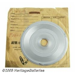 """Beatles """"There's A Place"""" Stamper Disc. The 8"""" st"""