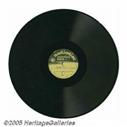 Beatles 1964 Vancouver Press Conference Acetate.