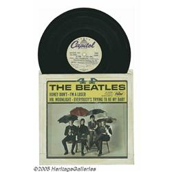 """Beatles """"4 x 4"""" Acetate. This 1965 EP was the sec"""