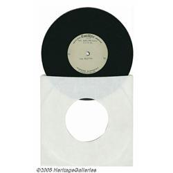 "Beatles ""This Bird Has Flown"" Acetate. October 27"