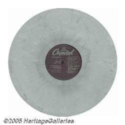 "Beatles ""White Album"" Prototype Disc. One of only"