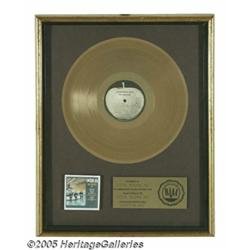 """Beatles """"Something New"""" Gold Record Award. This """""""