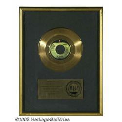 """Beatles """"Ballad of John and Yoko"""" Gold Record. An"""
