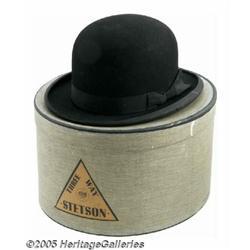 John Lennon Black Bowler Hat. John Lennon's perso