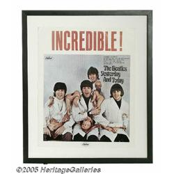 Beatles Butcher Cover Promo Poster. Here's a rare
