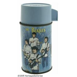 Beatles Thermos. Manufactured by Aladdin, this th