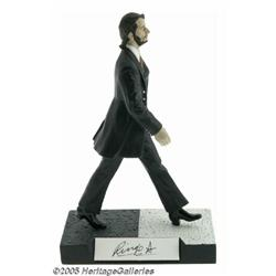 Ringo Starr Signed Statuette. A limited-edition,