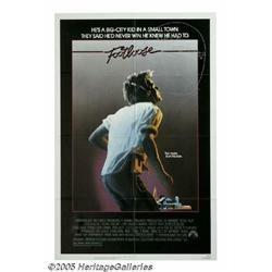 """Kevin Bacon Signed """"Footloose"""" Poster. An archety"""