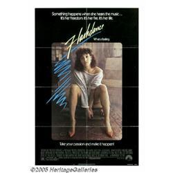 "Jennifer Beals Signed ""Flashdance"" Poster. This l"
