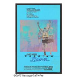 Robby Benson Signed Movie Poster (1983). Actor Ro