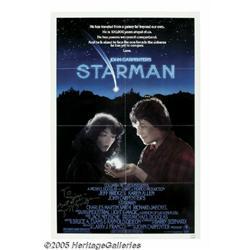 Jeff Bridges Signed Poster. For John Carpenter's